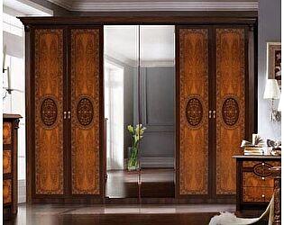 6-ти дверный шкаф Карина - 2 с зеркалами