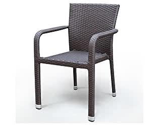 Купить стул Афина-мебель Плетеный стул A2001B-AD69 Brown