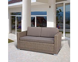 Купить диван Афина-мебель Плетеный S52B-W56 Light brown