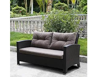 Купить диван Афина-мебель Плетеный AFM-205B Brown/Light brown