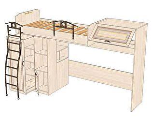Кровать-чердак Любимый дом Аврора (80), ЛД 504.140