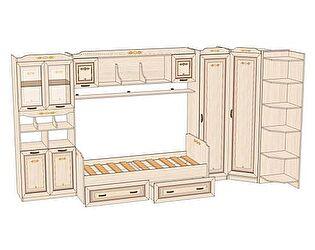 Комплект мебели для детской Аврора №3