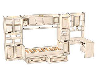 Комплект мебели для детской Аврора №2