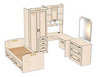 Комплект мебели для детской Аврора №5