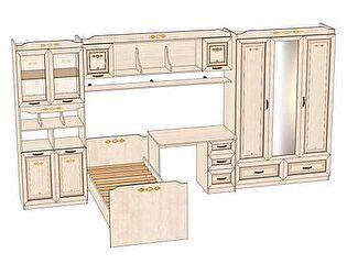 Комплект мебели для детской Аврора №7