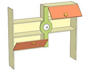 Надстройка к письменному столу с часами Любимый дом Фруттис, ЛД 503.110