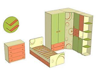 Комплект мебели для детской Фруттис №5