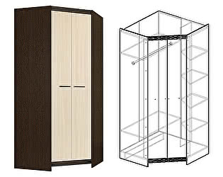 Купить шкаф Мебель Маркет Спайдер угловой большой