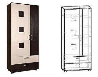 Купить шкаф Мебель Маркет Токио 2-х створчатый