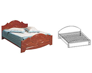 Купить кровать Мебель Маркет Арина 1600