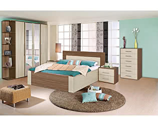 Спальня Мебель Маркет Берта Комплект 3 (Ясень Шимо)