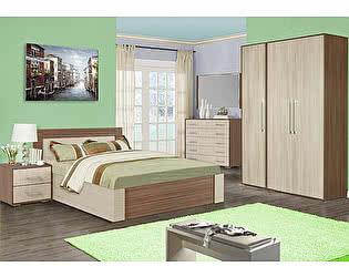 Спальня Мебель Маркет Берта Комплект 2 (Ясень Шимо)