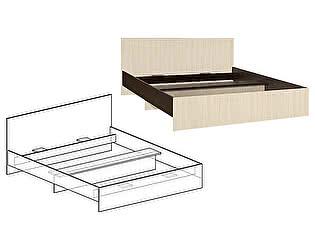 Кровать с прямой спинкой Мебель Маркет Светлана 1400