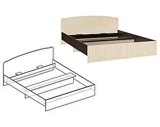 Кровать с фигурной спинкой Мебель Маркет Светлана 1600