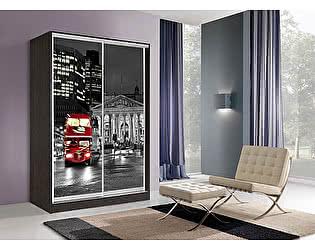 Шкаф-купе Мебель Маркет Оскар 2 Лондон (Венге)