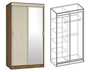 Купить шкаф Мебель Маркет Светлана купе 2-х створчатый с 1 зеркалом