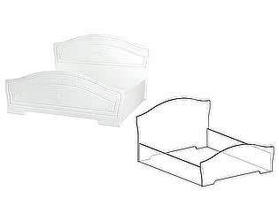 Кровать Мебель Маркет Шарлота 1400