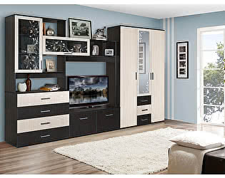Купить гостиную Мебель Маркет Альтернатива Комплектация 2