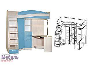 Купить кровать Мебель Маркет Детский уголок Симба левый