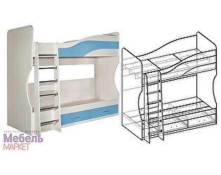 Купить кровать Мебель Маркет Симба двухэтажная
