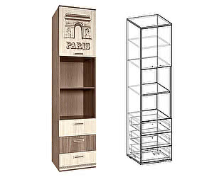 Купить шкаф Мебель Маркет Пенал Сенди открытый