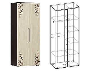 Шкаф Мебель маркет Кватро 2х створчатый комбинированный