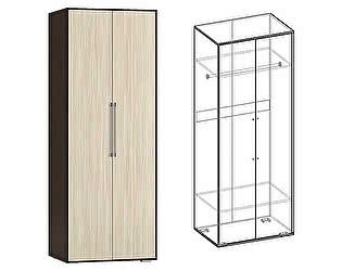 Купить шкаф Мебель Маркет Берта 2х створчатый (Венге/Ясень Шимо светлый)