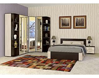 Купить спальню Мебель Маркет Берта Комплект 2 (Венге/Ясень Шимо светлый)