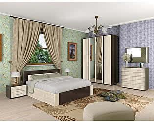 Спальня  Мебель Маркет Берта Комплект 3 (Венге/Ясень Шимо светлый)