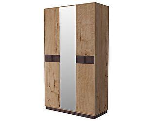 Купить шкаф Интеди Бруно ИД 01.413 3х дверный с зеркалом