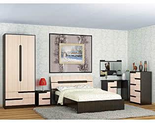 Спальня ТЭКС Гавана (дуб молочный) Комплект