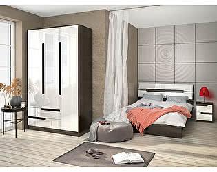 Купить спальню ТЭКС Гавана (Белый Глянец). Комплект 1