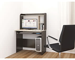 Купить стол ТЭКС Грета-2 (Венге) компьютерный