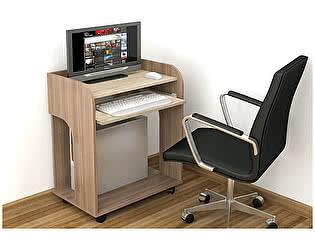 Стол ТЭКС Грета-10 (Ясень шимо) компьютерный