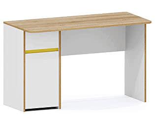 Купить стол Заречье Радуга Р9 письменный (вставка желтый)