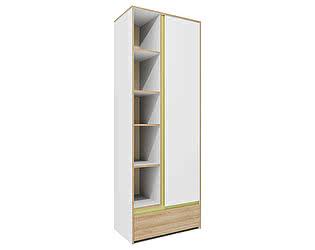 Купить шкаф Заречье Радуга Р3 многоцелевой (вставка зеленый)