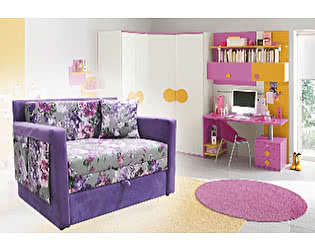 Купить диван Малина Кенгуру Парадиз Виолет