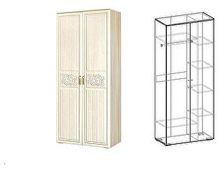 Купить шкаф Мебель Маркет Виктория 2х створчатый комбинированный (440)
