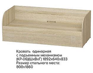Купить кровать BTS Сенди КРП-01
