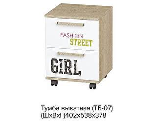 Тумба выкатная BTS Сенди ТБ-07 STREET GIRL
