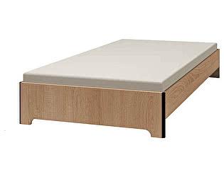 Кровать Глазов Эко 3 (140х200) дуб сонома