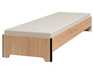 Кровать Глазов Эко 5 (90х200) дуб сонома