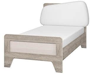Кровать Интеди Тайм (90) с мягким элементом и настилом, ИД 01.265