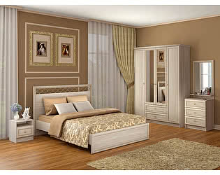 Спальня Ижмебель Брайтон композиция 1