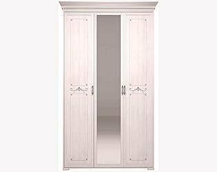 Шкаф Арника Афродита 06 для платья и белья 3-х дверный с зеркалом (без карниза)