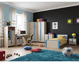 Молодежная комната МебельГрад Скаут Компоновка 1