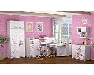 Детская комната Ижмебель Принцесса Компоновка 4