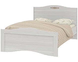 Кровать Интеди Вентура ИД 01.257а на 1200 с настилом