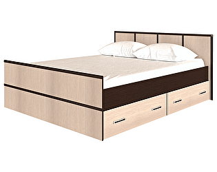 Кровать  BTS Сакура 160, с настилом ДСП, без матраса