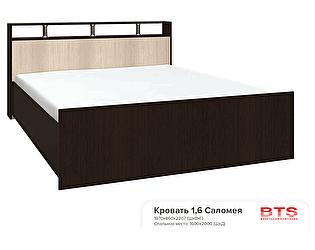 Кровать BTS Саломея БК-1,6  160 с настилом ДВП без матраса